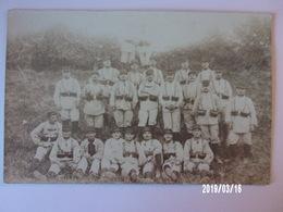 Groupe De Soldats Du 52ème R.I ? - Montélimar 1913 - Uniformes