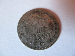 Autriche-Hongrie: 10 Kreuzer 1869 - Autriche