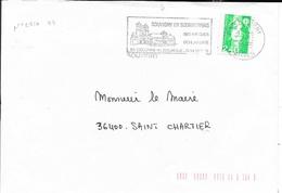 ALLIER 03  -   SOUVIGNY    - FLAMME   - VOIR DESCRIPTION   -  1995 - Marcophilie (Lettres)