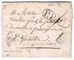 PRISON DE POISSY LETTRE D'UN PRISONNIER 1833 - Poststempel (Briefe)