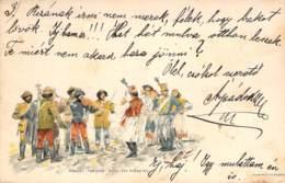 Danse Des Hussards (Ungarn) 1900 AKS - Danses