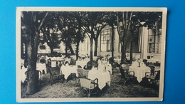 AIX LES BAINS  HOTEL DE L'EUROPE RESTAURANT TERRASSE CARTE 2 - Aix Les Bains