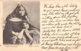 Maori Beauties 1903 - Neuseeland