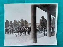 Cliché.Photo Originale.Légendée.70 Cercueils Yougoslaves. Cimetière De Thiais 1937. - Guerre, Militaire