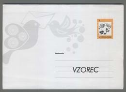 C4451 SLOVENIA Postal Stationery ENVELOPE A POSTA SLOVENIJE Biglietto Postale - Slovenia