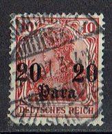 Türkei 1905/1913 // Mi. 37 O - Deutsche Post In Der Türkei