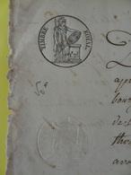 1676 (Basses-Alpes) Digne Thoard Timbre 1f25c Lys  (Alpes-de-Haute-Provence) - Cachets Généralité