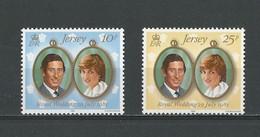 Jersey: 256/ 257 ** Mariage Royal - Koniklijke Families