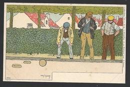 *** LYNEN N°21 - Jeu De Boules Plates - Lynen, Amédée-Ernest