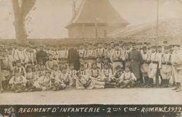 I87 - 26 - ROMANS - Drôme - 75e Régiment D'Infanterie - 2e Compagnie - 1912 - Romans Sur Isere