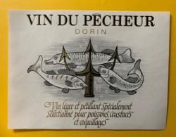 10089 - Vin Du Pêcheur Dorin Suisse - Etiquettes