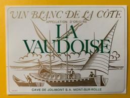 10090 - La Vaudoise La Côte Suisse Barque - Etiquettes