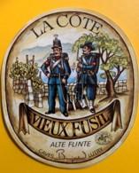 10094 - Vieux Fusils La Côte Suisse - Etiquettes