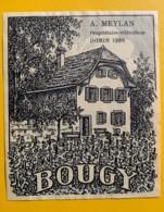 10098- Bougy Dorin 1980 A Meylan Suisse - Etiquettes