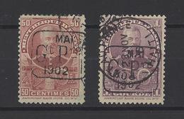 HAITI.  YT  N° 75-76  Obl  1902 - Haïti