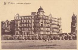Wenduine, Wenduyne, Grand Hôtel De Wenduyne (pk57044) - Wenduine