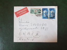 (27438) STORIA POSTALE ITALIA 1965 - 6. 1946-.. Repubblica