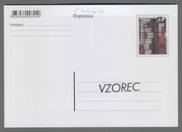 C4460 SLOVENIA Postal Stationery SLOVENSKI ETNOGRAFSKI MUZEI 90 LET A Postcard - Slovenia