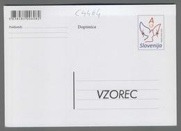 C4464 SLOVENIA Postal Stationery 70 OBLETNICA OSVOBODITVE ITALIJANSKEGA KONCENTRACIJSKEGA TABORISCA KAMPOR NA RABU A Pos - Slovenia