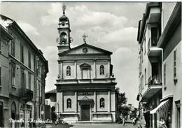 MONZA  BRIANZA  Parrocchia S. San Biagio  Insegna Esso  Vespa - Monza
