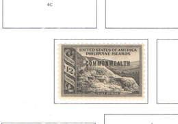 Filippine PO 1938/40  USA Em.1935 Ovpr.Commonwealth Nuovi  Scott.438+See Scan On Scott.Page; - Filippine