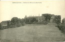 ARBIS (33) - Château De Benauge  (côté Nord) - France