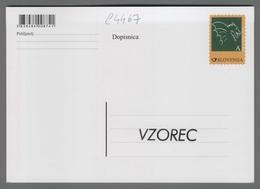 C4467 SLOVENIA Postal Stationery DRZAVNA FILATELISTICNA RAZSTAVA LJUBLJANA 2014 A Postcard Cartolina Postale - Slovenia