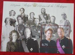 Dynastie Roi Koning Albert II  OBC N° 3356 118 (Mi 3404 Bl 101) 2005 POSTFRIS MNH ** BELGIE / BELGIEN / BELGIUM - Belgien