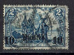 Türkei 1905/1913 // Mi. 45 O - Deutsche Post In Der Türkei