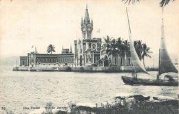 Brazil Ilha Fiscal Rio De Janeiro Boat Island Postcard - Brésil