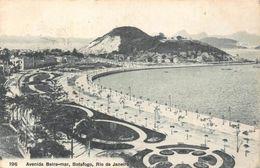 Brazil Avenida Beira-Mar Botafogo Rio De Janeiro Postcard - Brésil