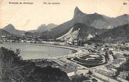 Brazil Enseada De Botafogo Rio De Janerio General View Postcard - Brésil