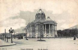 Brazil Rio De Janeiro Palacio Monroe Vintage Cars Postcard - Brésil