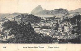 Brazil Gloria Cattete Pao D'Assucar Rio De Janeiro General View Postcard - Brésil