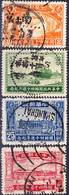 2019-0108 China 1936 40 Years Of Chinese Post, Complete Set Mi 283-286 Used O - Chine