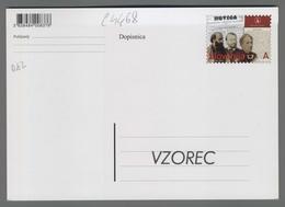 C4468 SLOVENIA Postal Stationery 150 LETNICA DELOVANJA KULTURNE USTANOVE SLOVENSKA MATICA A Postcard - Slovenia