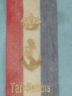 VALKENBURG. RUBAN - FANION 1963 DU CHAMPIONNAT DE TENNIS DE TABLE. FAUQUEMONT. - Tennis De Table