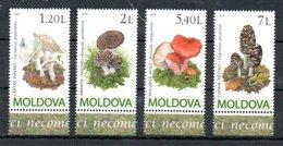 Moldavia Moldova Mushrooms Fungi 2010 MNH - Moldavia