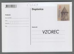 C4469 SLOVENIA Postal Stationery 100 LET VODOVODNEGA STOLPA BREZICE B Postcard Cartolina Postale - Slovenia