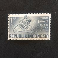 INDONESIA. JAVA TOUR 1958. MNH. C3704A - Cyclisme