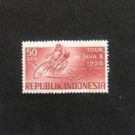 INDONESIA. JAVA TOUR 1958. MNH. C3705A - Ciclismo
