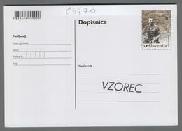 C4470 SLOVENIA Postal Stationery B Postcard Cartolina Postale - Slovenia