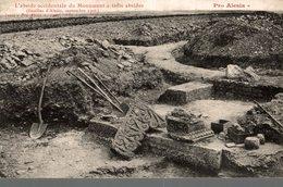 PRO ALESIA  L'ABSIDE OCCIDENTALE DU MONUMENT A TROIS ABSIDES - Antiquité