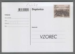 C4471 SLOVENIA Postal Stationery NOVO MESTO OBLETNICA USTANOVITVE NOVEGA MESTA B Postcard - Slovenia