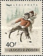 USED  STAMPS Hungary - Airmail - Winter Sports  -1955 - Hungary