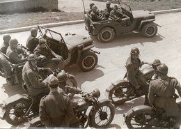 2° REPARTO CELERE DI P.S. - Timbro Al Retro FOTO PATELLANI - 4 - Cm. 18,00x13,00 - War, Military