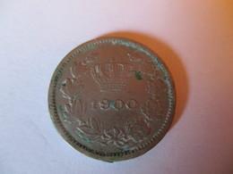 Romania: 5 Bani 1900 - Roumanie