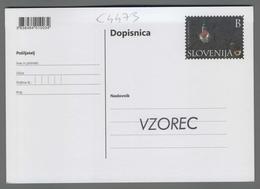 C4473 SLOVENIA Postal Stationery 750 LET SVETE GORE NAD BISTRICO OB SOTLI B Postcard Cartolina Postale - Slovenia