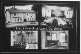 AK 0188  Kreiskulturhaus Schleiz / Ostalgie , DDR  Um 1965 - Schleiz
