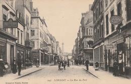 La Rue Du Port - Lorient